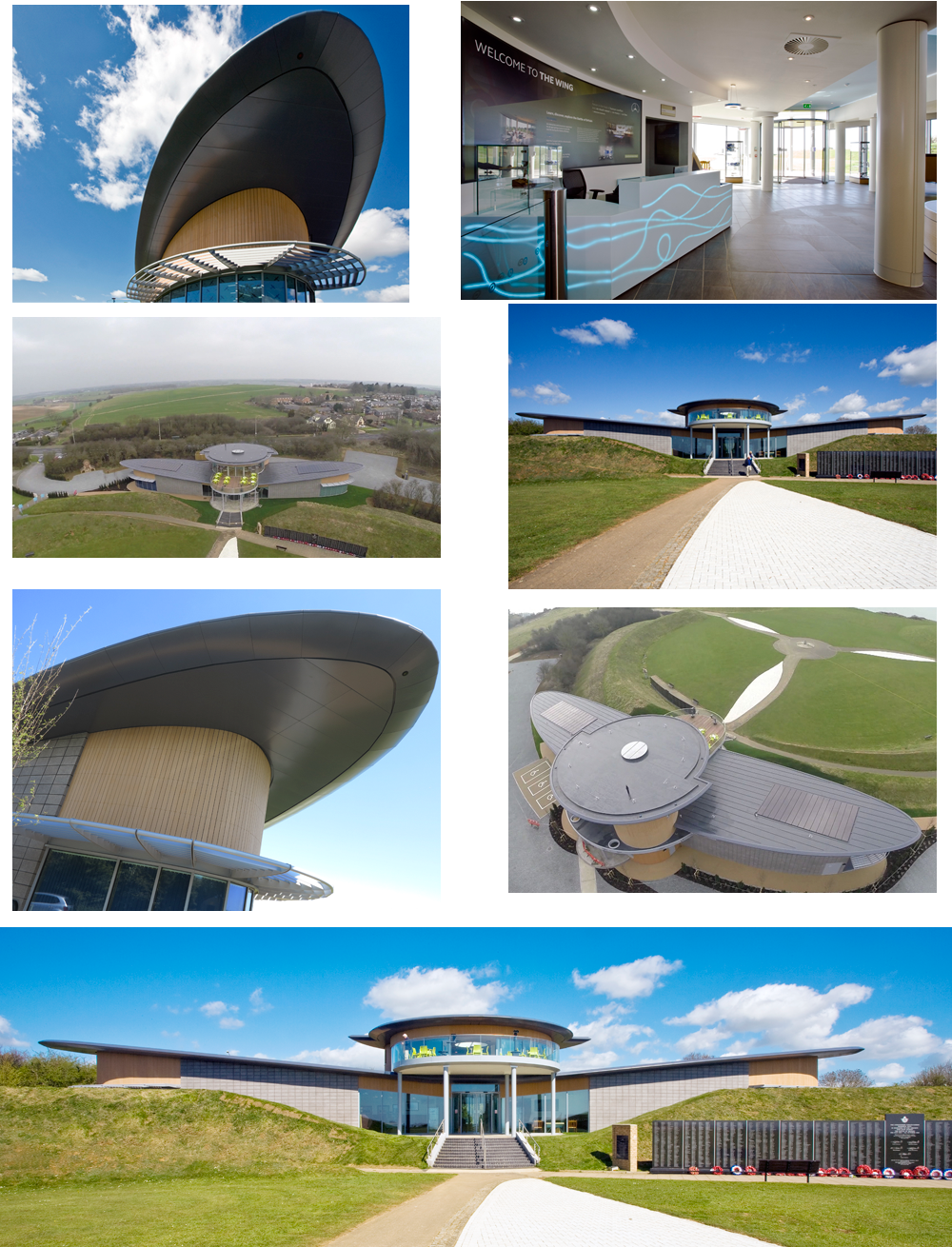 various images of the wing