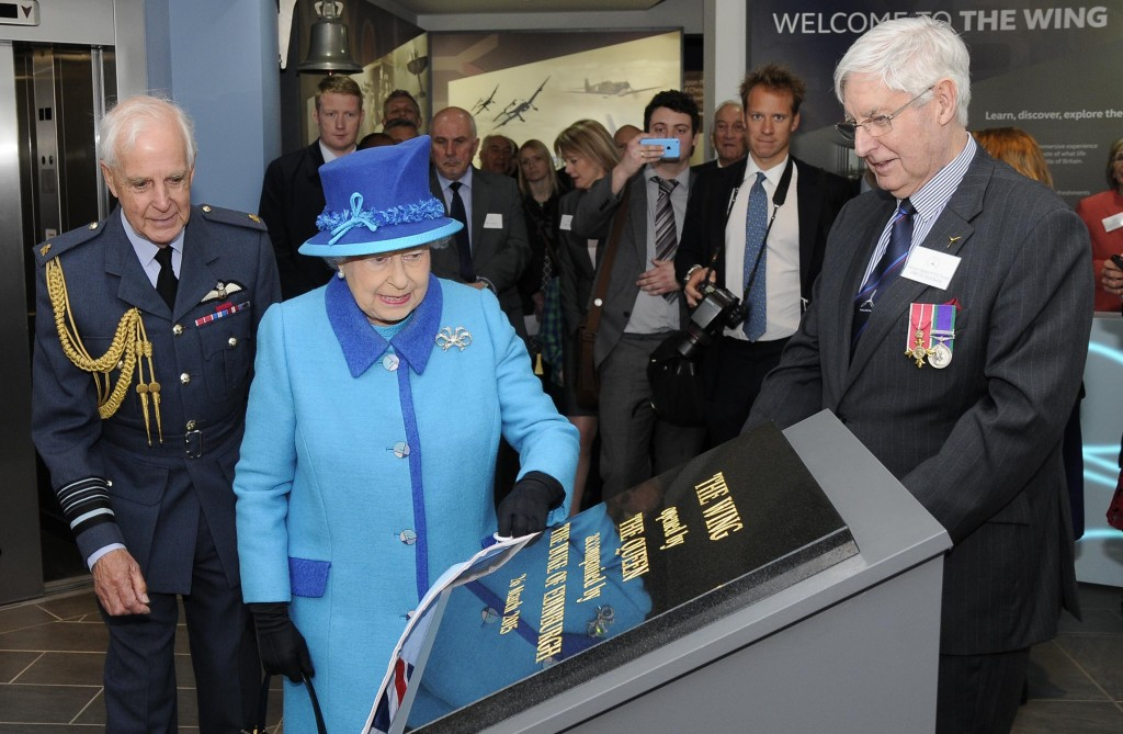 Her Majesty The Queen opens The Wing.